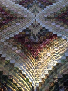 Mom's Bargello Quilt