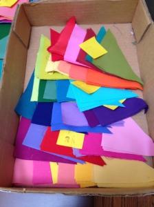 box of triangles