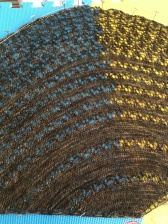 Fairy Hill Shawl